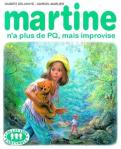 Martine n'a plus de PQ mais improvise