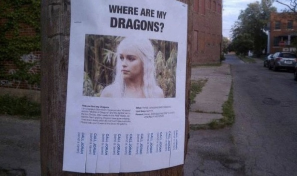 Where are my Dragons !